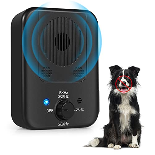 Pignr Bark Control Device, Upgraded Anti Barking Control Devices Ultrasonic Dog Bark Deterrent Pet Behavior Training…