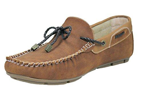 Mocassini uomo casual beige man's shoes scarpe basse estive slip on college