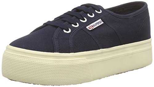 Superga 2790 Acot Womens Shoes Blue (933)
