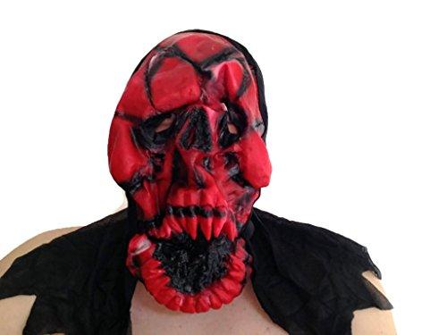 Ghost Skull Mask (Red)