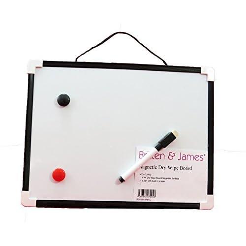 Tableau blanc magnétique - Nettoyer Wipe 29.2 x 22 cm