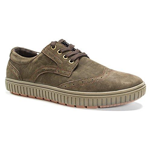 Muk Luks Mens Mens Parker Shoes Fashion Sneaker Coffee