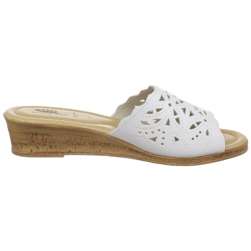 Estella Women's White Spring Step Wedge XH5ExqTWw0