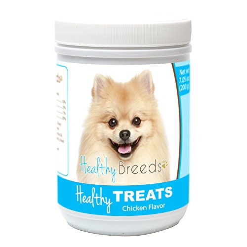 Healthy Soft Chewy Dog Treats for Pomeranian - Over 80 Breeds - Tasty Flavored Snack - Small Medium or Large Pets - Training Reward - ()