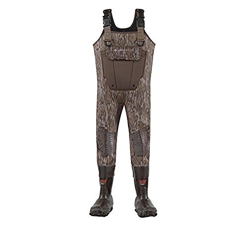 LaCrosse Kid's Mallard II 1000G Insulated Waders, Camouflage, 8 Big Kid M by Lacrosse