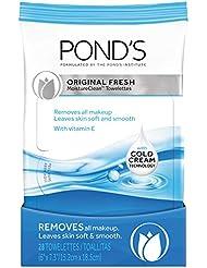Pond's Makeup Remover Wipes, Original Fresh, 28 ct