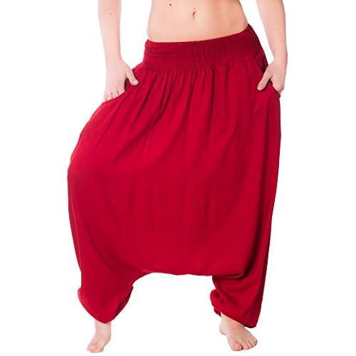 Sarouel Sarouel Pantalon Bouffant Baggy Ballon Pantalon D\u0027yoga Combinaison  low,cost
