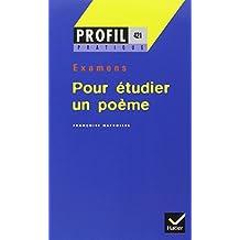Pour étudier un poème # 421