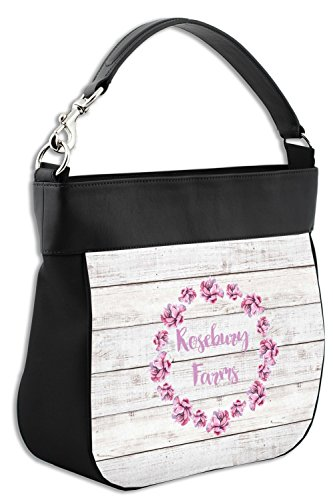 Personalized House Front Trim amp; Back Hobo Farm Genuine Leather Purse w nqvCnWUcy