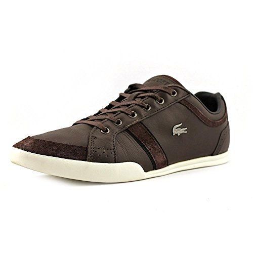 Mens Lacoste, Rayford Brogue SRM Lace up Shoe Dark Brown