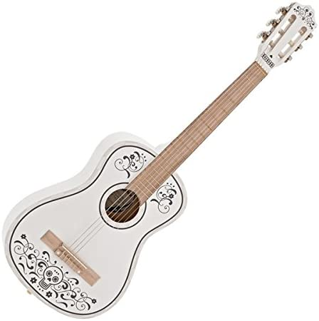 Guitarra Espanola Junior Day of the Dead de Gear4music: Amazon.es ...