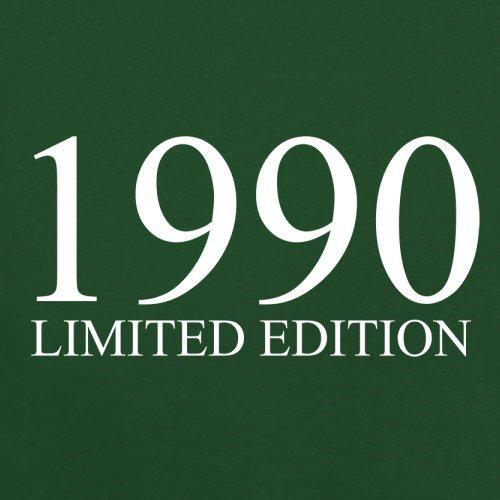 1990 Limierte Auflage / Limited Edition - 27. Geburtstag - Herren T-Shirt - Flaschengrün - L