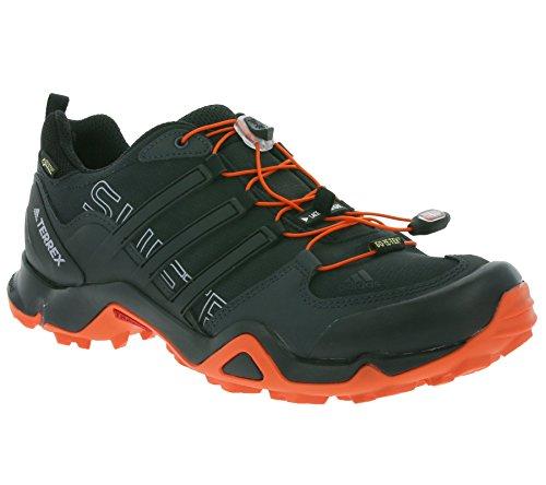 adidas Terrex Swift R Gtx, Chaussures de Randonnée Homme, Noir (Nero Negbas/Negbas/Energi), 42 EU