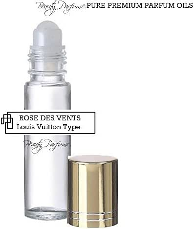Rose Des Vents *Type (W) Concentrated Version PREMIUM PERFUME BODY OIL Roll on : UNCUT PARFUM OIL