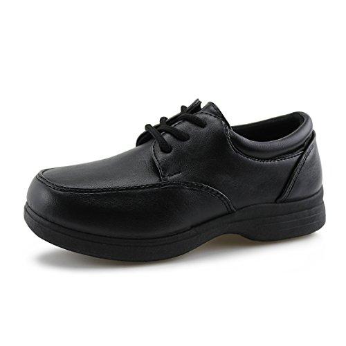 All Black Uniform Shoes - 5