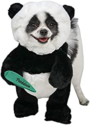 Pandaloon Panda Puppy Dog Pet Costume (Size 2 (15-17 in Total Height), Panda)