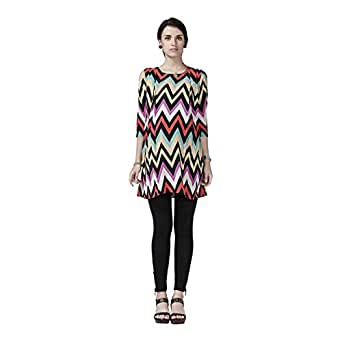Napius Presents Maternity Dress, Multicolor - Large