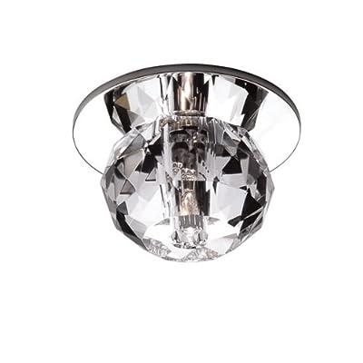 WAC Lighting DR-G363-CL Beauty Spot Crystal Ball, Clear