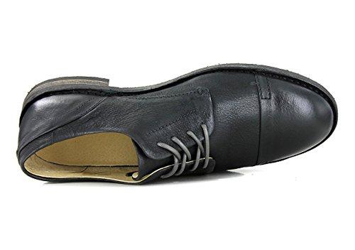 Kickers, Herren Schnürhalbschuhe Noir n
