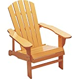 Kotulas Classic Peach Painted Wood Adirondack Chair