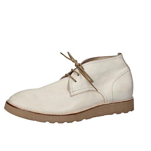 MOMA Desert Boots Hombre 42 EU Blanco Cuero