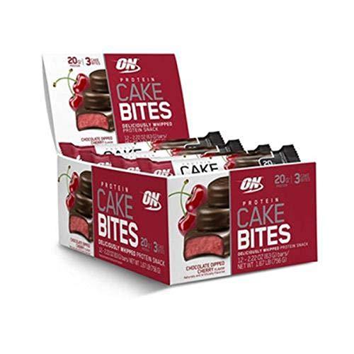 Protein Cake Bites - Optimum Nutrition - (Caixa 12 unidades)