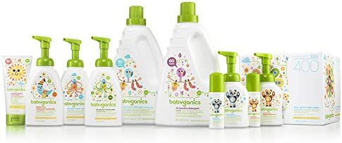 41 - Babyganics 3X Baby Laundry Detergent, Fragrance Free, 60oz, Packaging May Vary