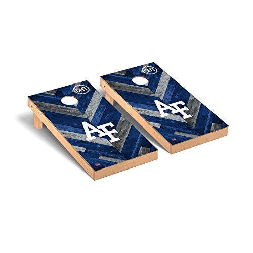 Victory Tailgate Air Force Academy Falcons Cornhole Game Set OHT Herringbone - Force Falcons Air Game