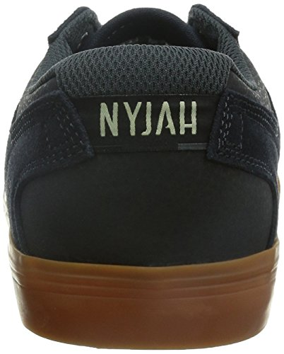 DC Shoes Nyjah Vulc Ante Zapatillas Blue-Grey(BGC)