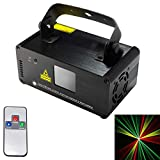 stage lighting DM-RGY200 18W LED Single Beam Projector with Remote Controller, Auto Run/Sound Control Modes, AC 100-240V