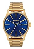 Nixon Men's Sentry SS Quartz Watch with Stainless-Steel Strap, Multi, 25.4 (Model: A3562735)