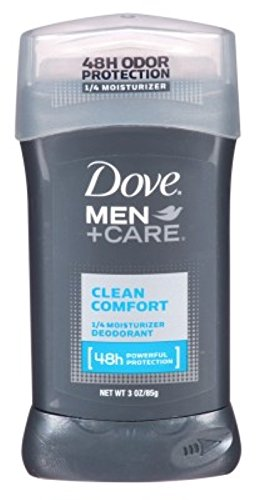 Dove Men+Care Deodorant Stick, Clean Comfort, 3 Ounce (Pack of 3)