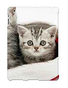 Crooningrose High-end Case Cover Protector For Ipad 2/3/4(Animal Cute Cat Kitten)