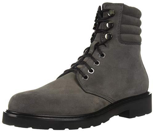 Aquatalia Men's Heath Suede Hiking Boot, Dark Charcoal, 8 M US