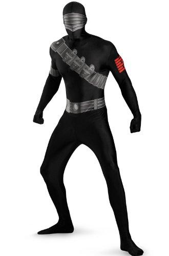 Snake Eyes Costume For Kids (Snake Eyes Deluxe Bodysuit)