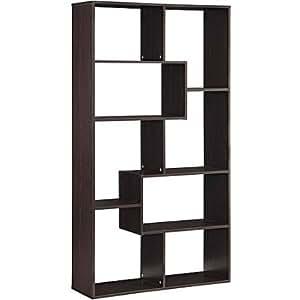 Mainstays Home 8-Shelf Bookcase (Espresso)