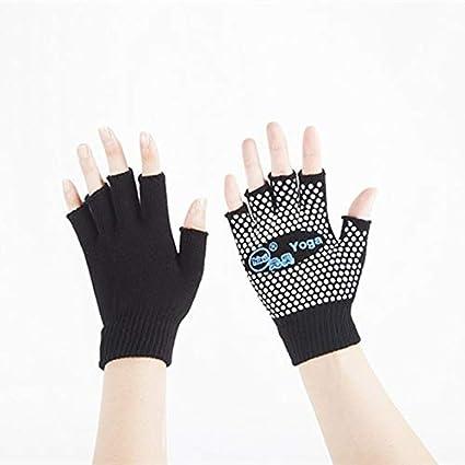 Amazon.com: Yhao Brand Non-Slip GoodWomen Pilates Gloves Set ...