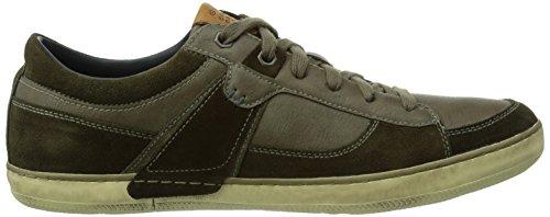 Geox U Box, Sneaker a Collo Basso Uomo Marrone (Military/Olive C3074)