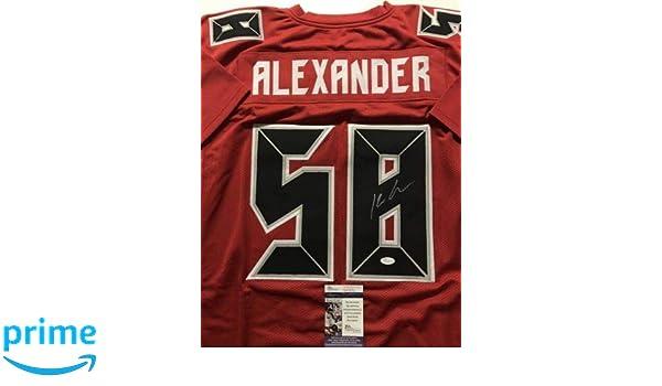 best website bf220 d5d44 Autographed/Signed Kwon Alexander Tampa Bay Color Rush ...