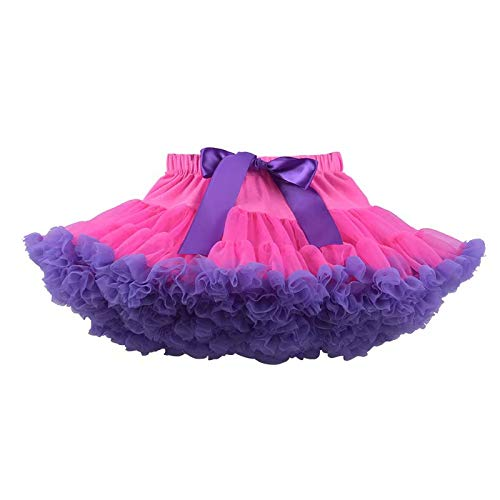 MILASIA Falda de Tul para niñas, Minifalda de tutú Falda de Tul ...