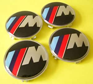 BMW M Wheel Center Caps for M1, M3, M4, M5, M6 or M7