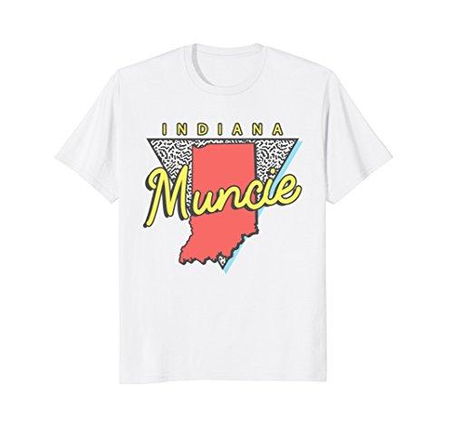 Muncie Indiana T Shirt Vintage Retro IN