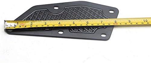 Beauneo per Xmax 300 Pedane Pedane X Max 300 Pedane Poggiapiedi Xmax 300 per Accessori Moto CNC-Nero