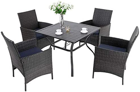 PHI VILLA 5 Piece Patio Dining Set