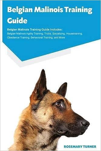 Belgian Malinois Training Guide Includes Agility Tricks Socializing Housetraining