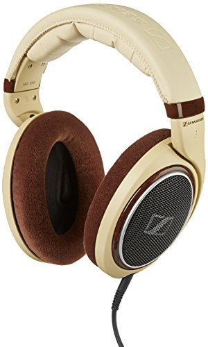 Price comparison product image Sennheiser HD 598 Over-Ear Headphones - Ivory