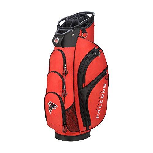 Wilson 2018 NFL Golf Cart Bag, Atlanta Falcons - Wilson Atlanta Falcons Golf