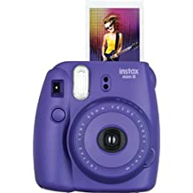 Fujifilm Instax Mini 8 Instant  Camera  (Electric Purple)