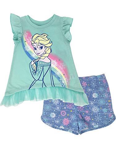 Disney Frozen Elsa Toddler Girls' Ruffle Tunic