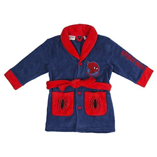 Marvel Spiderman ochtendjas voor jongens, warme zachte fleece pluizige blauwe badjas voor kinderen, zachte badjas…